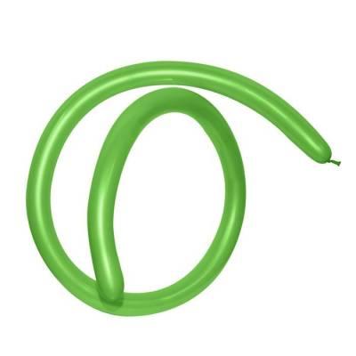 Шар для моделирования 260, пастель, набор 100 шт., цвет зелёный GEMAR