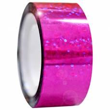 Обмотка для гимнастических булав и обручей Diamond малиновая металл. клейкая Stor