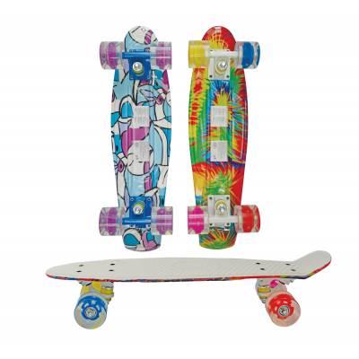 Детский скейтборд (светятся колеса) Navigator