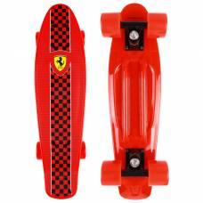 Пенни борд FERRARI 56,5х14,5 см, FBP4, колёса PU, ABEC 5, цвет красный Ferrari