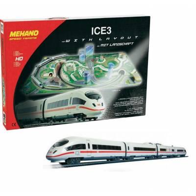 Железная дорога р/у ICE 3