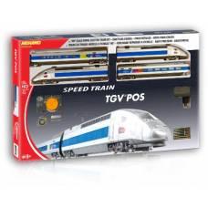 Железная дорога T103 TGV Pos, 1:87 Mehano