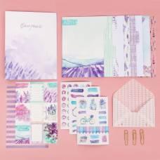 Ежедневник «Мои планы и мечты», набор для создания, 18,3 × 24,7 × 3,6 см Арт Узор
