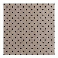 Джутовый лист American Crafts «Small black polka dot» American Crafts