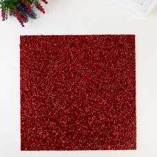 Кардсток с бисером Confetti American Crafts - Цвет Crimson American Crafts