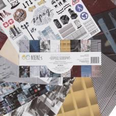 Набор бумаги для скрапбукинга (8 листов)