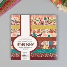 Набор бумаги для скрапбукинга BoBunny - Коллекция « FLORAL SPICE», 36 листов,15х15 см BoBunny