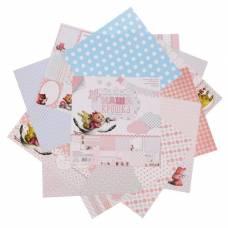 Набор бумаги для скрапбукинга «Наша крошка», 12 листов, 30,5 х 30,5 см Арт Узор