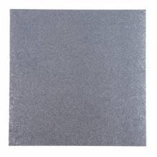 Глиттерный кардсток American Craft «Silver», 30.5х30.5 см American Crafts