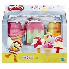 Игровой набор Play-doh - холодильник с мороженым Hasbro