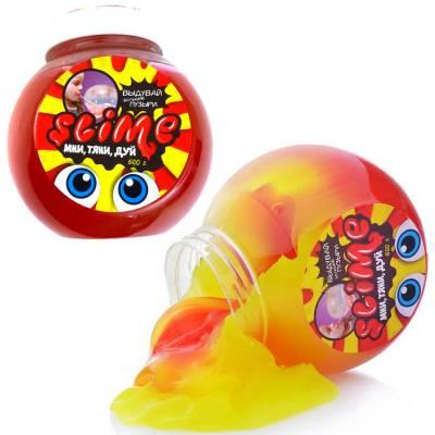 Лизун Slime Mega Mix, желто-клубничный, 500 гр. Волшебный мир