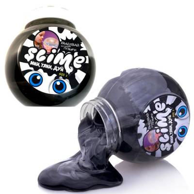 Лизун Slime Mega Mix, черно-белый, 500 гр. Волшебный мир