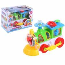 Музыкальная развивающая игрушка с сортером «Паровоз», световые и звуковые эффекты Sima-Land