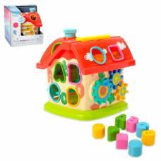 Развивающая игрушка «Домик» с сортером и подвижными элементами Sima-Land