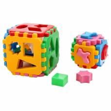 Развивающая игрушка-куб «Умный малыш 1+1», 36 элементов ТехноК