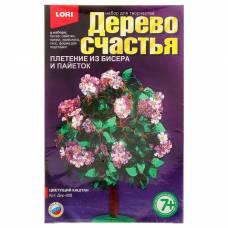 Дерево счастья из бисера и пайеток