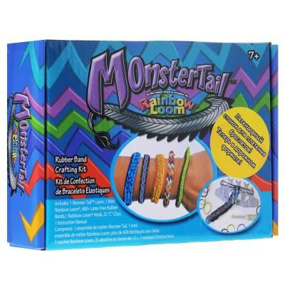 Компактный набор для плетения браслетов МоnsterTail Choon's Design LLC