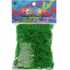 Набор резинок для плетения браслетов, зеленый Rainbow Loom