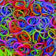 Резиночки для плетения браслетов Rainbow Loom, гелевые микс Rainbow Loom