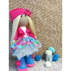 Набор для создания текстильной куклы Кл-015П Сама сшила