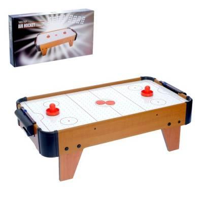 Аэрохоккей «Великолепный матч», работает от батареек Sima-Land