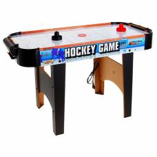 Игра настольная «Аэрохоккей», работает от сети, световые и звуковые эффекты Sima-Land