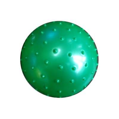 Массажный мяч, зеленый, 13 см