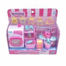 Игровой набор Бытовая техника - Стиральная машина, предметы 26 шт Наша игрушка