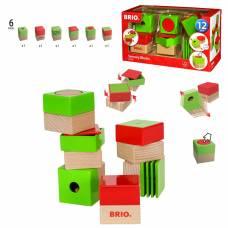 Развивающие кубики, 6 элементов Brio