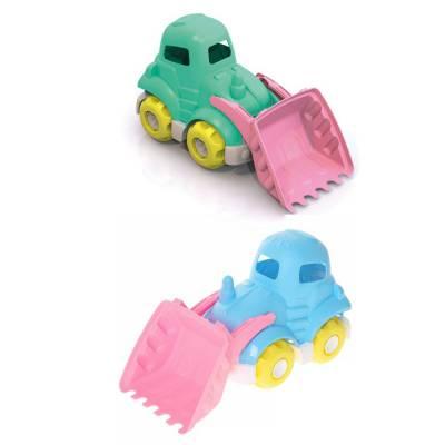 Пластиковый трактор Шкода