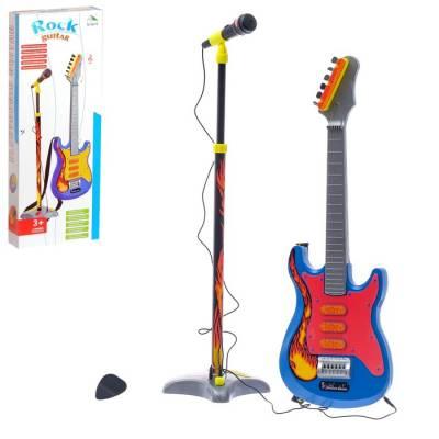 Музыкальная установка «Рок-н-ролл-3»: гитара и микрофон Sima-Land