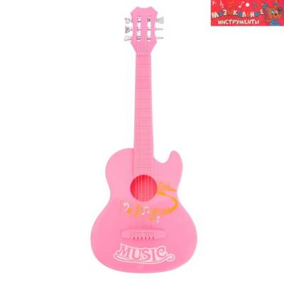 Музыкальная игрушка гитара «Мелодия» Sima-Land