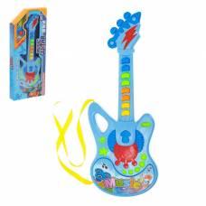 Музыкальная игрушка гитара «Молния», световые и звуковые эффекты Sima-Land