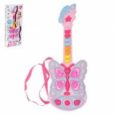 Музыкальная игрушка гитара «Бабочка», световые и звуковые эффекты Sima-Land