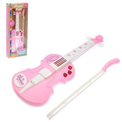 Музыкальная игрушка скрипка «Скрипач», световые и звуковые эффекты Sima-Land