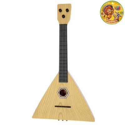 Музыкальная игрушка балалайка «Классика», цвета МИКС Sima-Land
