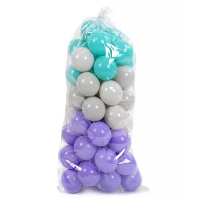 Мячики для сухого бассейна, в пакете, 7.5 см, 50 шт. Польская пластмасса