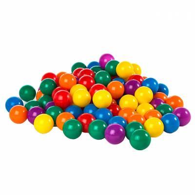 Пластиковые мячики для сухого бассейна, 100 штук Intex