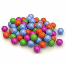 Набор разноцветных шариков для сухого бассейна, 100 шт. Нордпласт