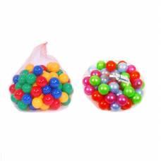Набор из 50 шариков для сухого бассейна, 6 см Нордпласт