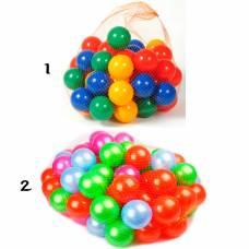 Набор из 50 шариков в сетке, 8 см Нордпласт