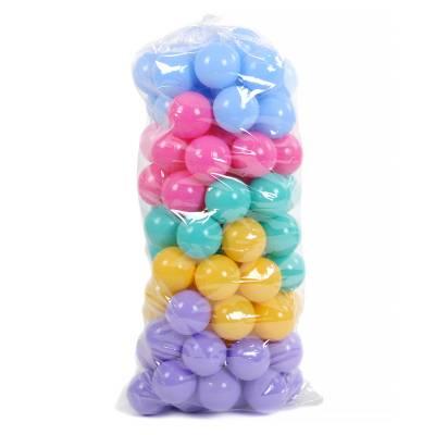 Мячики для сухого бассейна, 7.5 см, 90 шт. Польская пластмасса