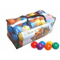 Набор из 100 шариков для сухого бассейна в сумке, 6.5 см Intex