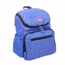 Рюкзак женский, для мамы и малыша, с ковриком для пеленания, цвет синий джинс Sima-Land
