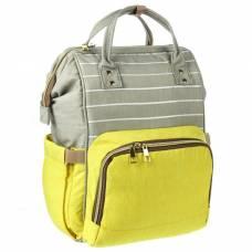Рюкзак женский, для мамы и малыша, модель «Сумка-рюкзак», цвет жёлтый Sima-Land