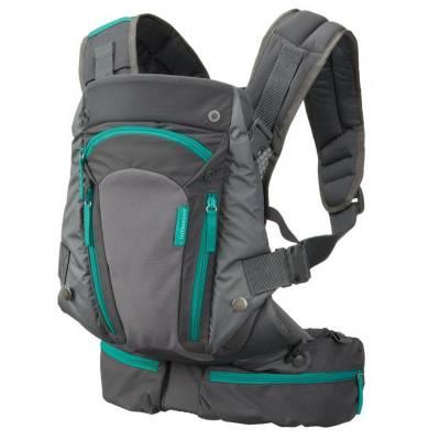 Рюкзак-кенгуру для переноски малыша с карманами Infantino