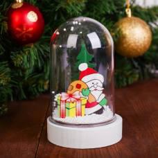 Декор с подсветкой «Дед Мороз» Sima-Land