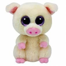 Мягкая игрушка Beanie Boo's - Поросенок Piggley, 16 см  Ty Inc