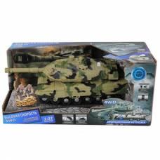 Инерционный танк (свет, звук), 1:32 Yako Toys