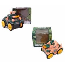 Игрушечный танк-перевертыш Military Tanks (свет), 12 см Shantou